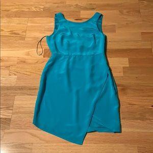 Designer Silk dress Asymmetrical Yumi Kim XS